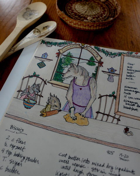 Bangor artist Hannah Kreitzer has been creating an illustrated cookbook with family recipes.
