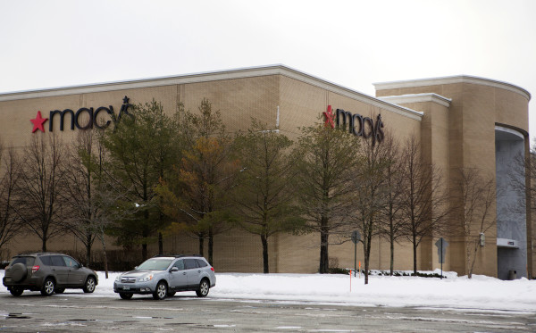 The Macy's store at the Bangor Mall is seen Wednesday in Bangor.