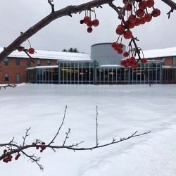 Thomas College's Alfond Academic Center in Waterville.