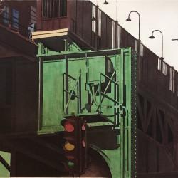 """""""Green Line"""" by Sidney Hurwitz"""