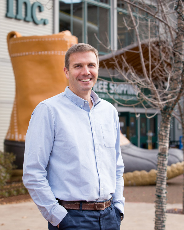 Stephen Smith, president and CEO of Freeport-based L.L. Bean.