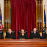 The Maine Supreme Judicial Court can be seen in this 2016 file photo.