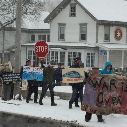 Court penalties won't keep peace protesters away from Bath Iron Works