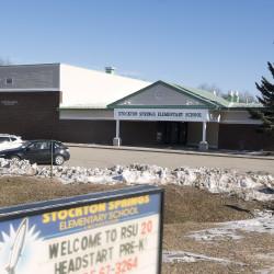 The Stockton Springs Elementary School.