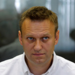 Russian anti-corruption campaigner and opposition figure Alexei Navalny attends a hearing at the Lublinsky district court in Moscow, Russia, Aug. 1, 2016.