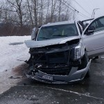 According to police, Douglas Hise, was driving this Cadillac Escalade in the wrong lane on U.S. Route 1, late Saturday morning in St. David, when he struck two vehicles within a few miles of one another.