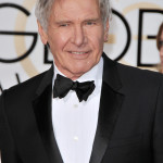 Harrison Ford arrives at the 73rd Annual Golden Globe Awards at the Beverly Hilton in Los Angeles, Jan. 10, 2016.