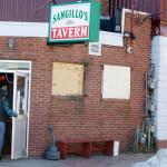 The former Sangillo's Tavern in Portland.