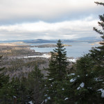 Moosehead Lake is seen from a viewpoint on the hiking trail on Little Moose Mountain on Dec. 4, 2016, in the state-owned Little Moose Public Reserved Land Unit, which covers more than 15,000 acres in Big Moose and Moosehead Junction townships.