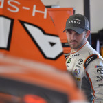 NASCAR Cup Series driver Daniel Suarez (19) looks on during practice for the Advance Auto Parts Clash At Daytona at Daytona International Speedway, Feb. 17, 2017.