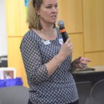 "Kelly Clements, United Nations high commissioner for refugees, participated in Catholic Charities of Maine training session called ""In Their Shoes"" Friday during a visit to Maine over the weekend."