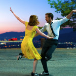"Ryan Gosling as Sebastian and Emma Stone as Mia in a scene from the movie ""La La Land"" directed by Damien Chazelle."