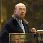 Wilbur Ross is seen in the lobby of Trump Tower on Dec. 15, 2016 in New York.