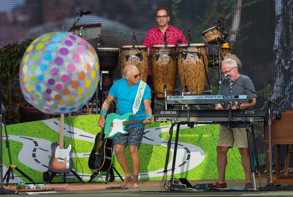 Jimmy Buffett performs at the Darling's Waterfront Pavilion on the Bangor Waterfront on Aug. 18, 2016. His was the biggest concert of 2016. City officials continue with contract talks with the company that manages the pavilion.