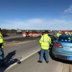 An oil truck rolled over on Interstate 295 north near exit 4 in South Portland on Feb. 6. Such accidents have become common on this stretch of highway.