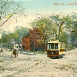 Bangor had the first electric trolley system in Maine.