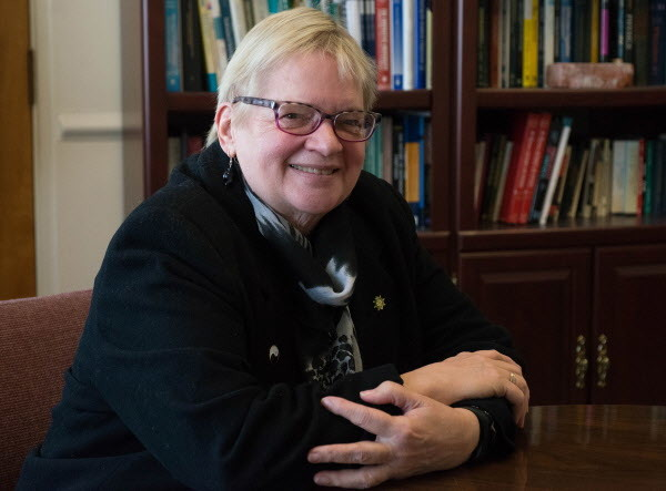 Sue Huseman, University of Maine at Machias interim president, recently discussed the partnership between UMM, the state's smallest university, and the University of Maine. The partnership, which will bring more opportunities to the students, is an effort to turn around UMM's declining enrollment.