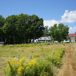 Rolling Acres Farm in Jefferson now serves as Maine Farmland Trust's Joseph A. Fiore Art Center, where four artists each spent a month last summer completing an art residency.