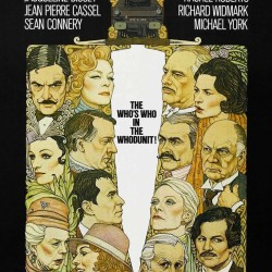 """The poster for """"Murder on the Orient Express."""""""