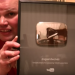 Our favorite weatherman Frankie McDonald receives award from YouTube