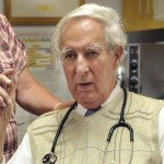Dr. Harry Peddie can be seen in Orono in this July 2010 file photo.