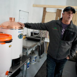 John Parker, who runs Skywalkers Bar & Grille in Machias with his wife Danielle, is stepping into the craft beer business in a region where that industry has not yet taken off. Parker's nano brewery, Machias River Brewing Co., is scheduled to open in March.