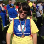 Special Olympic Maine athlete Laura Lucas