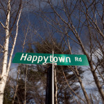 Many people in the vicinity of the Happytown Road believe the road connects families that are interested in a homesteading lifestyle. They have formed friendships and a new kind of community that is loosely connected by the rural road. The Happytown Road, only partially paved, starts near Dedham and goes through Orland and Ellsworth.