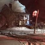 Two people have died in an early morning apartment fire Tuesday on Square Road near the Canaan town line, according to the state fire marshal's office.