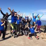 Teen Trekkers from Team Atlas at Acadia National Park in 2016.
