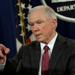 U.S. Attorney General Jeff Sessions speaks at a news conference at the Justice Department in Washington, U.S., March 2, 2017.