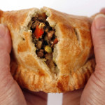 Sweet or savory, the hand pie is an easy choice, whether you're planning snacks, a main dish or dessert. Here, a curried lamb hand pie.