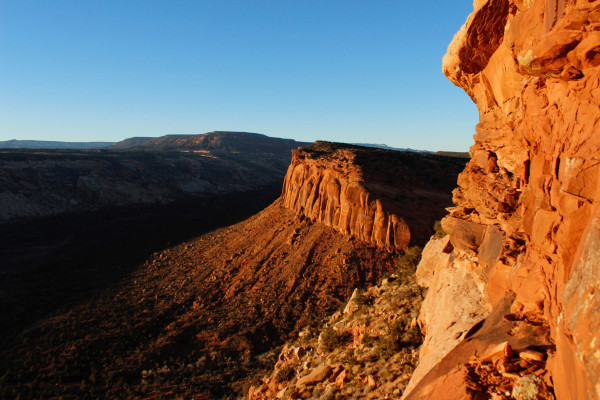 The view from Comb Ridge is pictured in Utah's Bears Ears area of the Four Corners Region.
