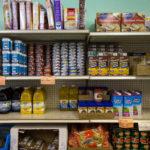 The Weald Bethel Food Pantry in Cherryfield.
