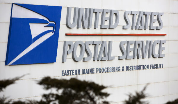 The Eastern Maine Carrier Annex Post Office is seen in Hampden Thursday.