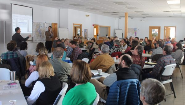 To help create the preferred future for the Moosehead Lake region, stakeholders took part in a two-day Moosehead Lake Regional Master Plan Future Think Tank on Thursday and Friday at the Bartley Facility in Greenville.