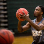 Raheem Anderson of Husson University in Bangor has been named the ECAC Division III New England Player of the Year.