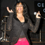 "One of the original members of the music group Sister Sledge',Joni Sledge performs ""We Are Family"" at the CD launch party for the ""We Are Family"" CD and DVD All-Star Katrina benefit CD in Los Angeles, Aug. 14, 2006"