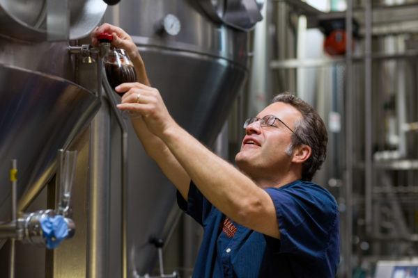 Rob Tod founded Allagash Brewing Co. 20 years ago in Portland. The brewery is nominated for a James Beard Award.