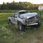 Two men died and a third was critically injured when the 2010 Toyota Tacoma they were riding in struck a utility pole and rolled several times in Prospect in Sept. 2016.