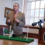 Gov. Paul LePage during a press conference at the State House.
