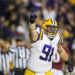 LSU football player with strong Maine ties receives prestigious honor