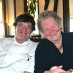 Cheryl Rust, owner of Le Garage (right), with her chef of nearly 40 years, Al Dodge.