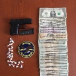 Following a search warrant executed Monday at a Bath apartment, Maine Drug Enforcement agents allegedly seized 21 doses of crack cocaine from his pocket, a loaded, semi-automatic handgun and about $1,000 in alleged drug proceeds from Dashawn Gill of Brooklyn, New York.