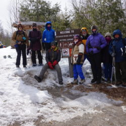 Thousands of visitors, including this group from the Bangor YMCA, have been to the Katahdin Woods and Waters National Monument since it was created in August.