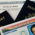 Starting yesterday, the Bureau of Motor Vehicles requires a passport or birth certificate and other proof that the person trying to get a Maine driver's license is a Maine resident and is in the U.S. legally. For the complete lisdt of requirements and acceptable documents, visit www.maine.gov/sos/bmv.  (BANGOR DAILY NEWS PHOTO ILLUSTRATION BY GABOR DEGRE)