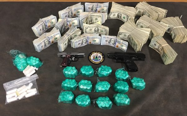 In January, Sanford Police and the York County Sheriff's Office assisted state and federal drug agents in the arrest of two people in the largest heroin drug bust in Maine. The combined street value of the fentanyl laced heroin seized in both Maine and Massachusetts was over $1.8 million.