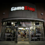A GameStop store is pictured in Pasadena, California.