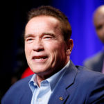 "Arnold Schwarzenegger participates in a panel for ""The New Celebrity Apprentice"" in Universal City, California, Dec. 9, 2016."