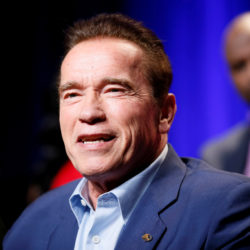 Arnold Schwarzenegger participates in a panel for &quotThe New Celebrity Apprentice&quot in Universal City, California, Dec. 9, 2016.